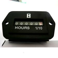 Hour Meter General purpose 120 Volts AC rectangular Without line Widiamond Meter