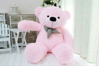 Brand Giant Stuffed Plush Teddy Bear Soft Doll Toy S0401-pink-80cm 31inch