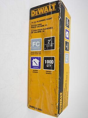 1, 000 Per Box DeWalt DWFLN-150 1-1//2 L Shaped Flooring Cleat