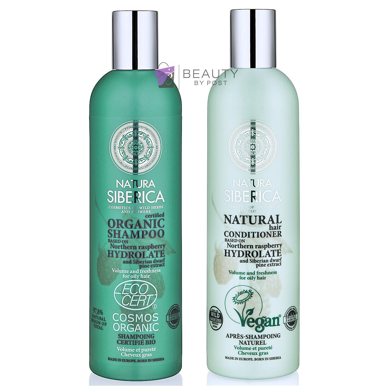 Natura Siberica White Cedar Gift Set Natural Volume Hair Care Kit For Sale Ebay