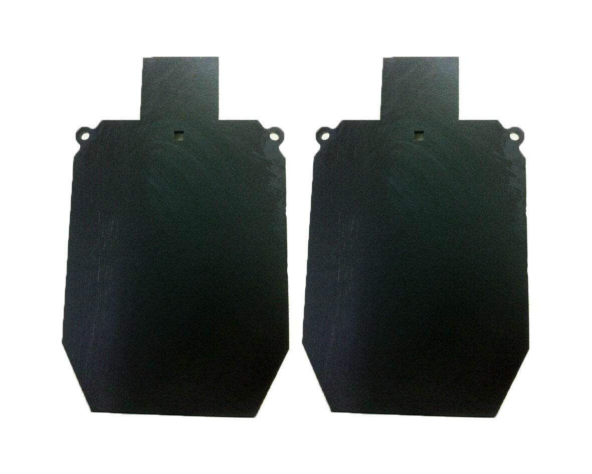AR500 conjunto de 2 piezas de acero Idpa Tiro de destino 2 3 3 8  X 12  X 20  Tgard 016