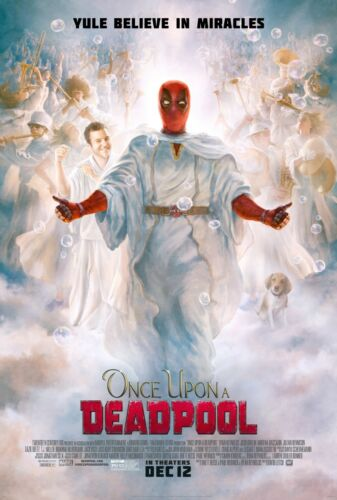 24x36 Once Upon A Deadpool Movie Poster - Ryan Reynolds Fred Savage v2