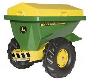 Rolly Toys - John Deere Épandeur (fertilisant) Streumax Bande-annonce Jaune/vert