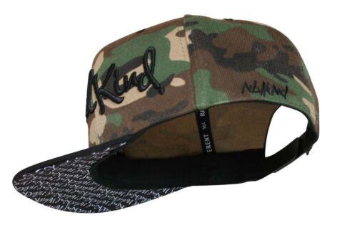 Nebelkind Camouflage snapback CAP avec verdrehtem parapluie OneSize unisexe