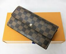 Louis Vuitton Damier Portefeuille Sarah Wallet N61734 Ct4102