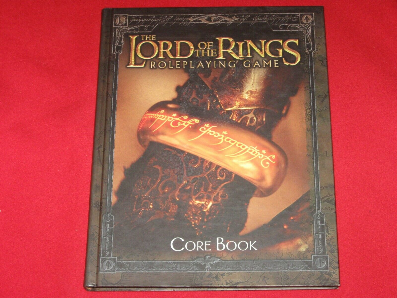 LORD OF THE RINGS ROLEPLAYING GAME CORE BOOK HC J.R.R. Tolkien MERP