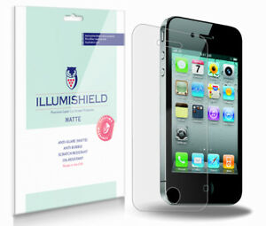 iLLumiShield-Matte-Matte-Screen-Back-Protector-3x-for-Apple-iPhone-4S-AT-amp-T