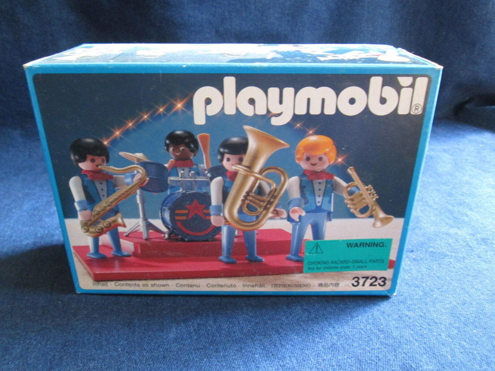 Vintage 1991 Playmobil  3723 Rouomoi Circus Jazz Be Quartet  nuovo Sealed RARE  negozio online