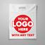 Company-039-s-Bag-con-logo-su-misura-in-plastica-Carrier-Bags miniatura 1