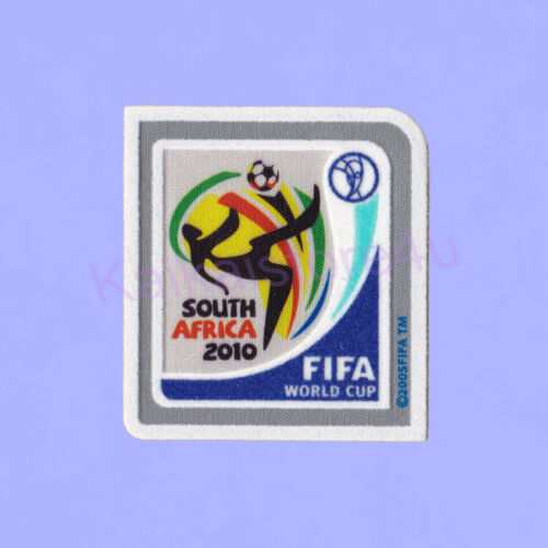 World Cup South Africa 2010 Soccer Patch Flock WC 2010 Football Badge