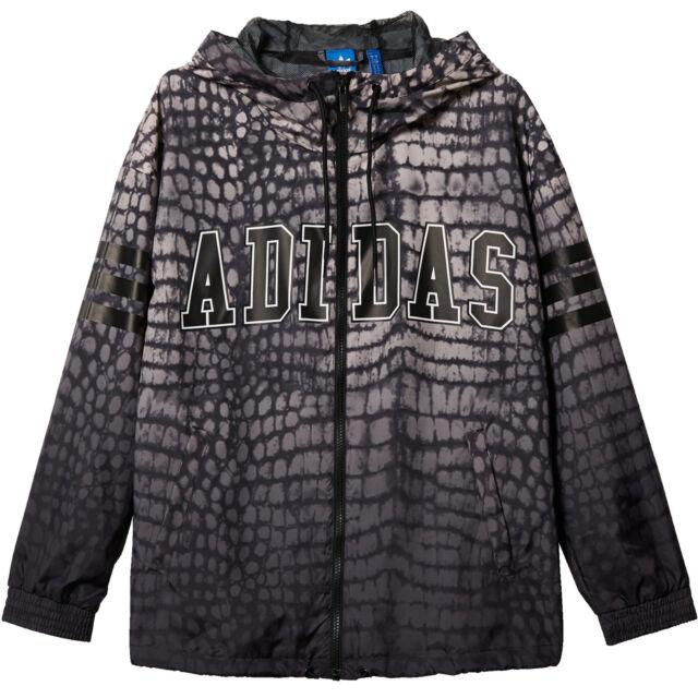 size 7 low price cheap price adidas Originals Windbreaker Damen -windjacke Casual Jacket Between Seasons  36 (s) NY Printed S19920