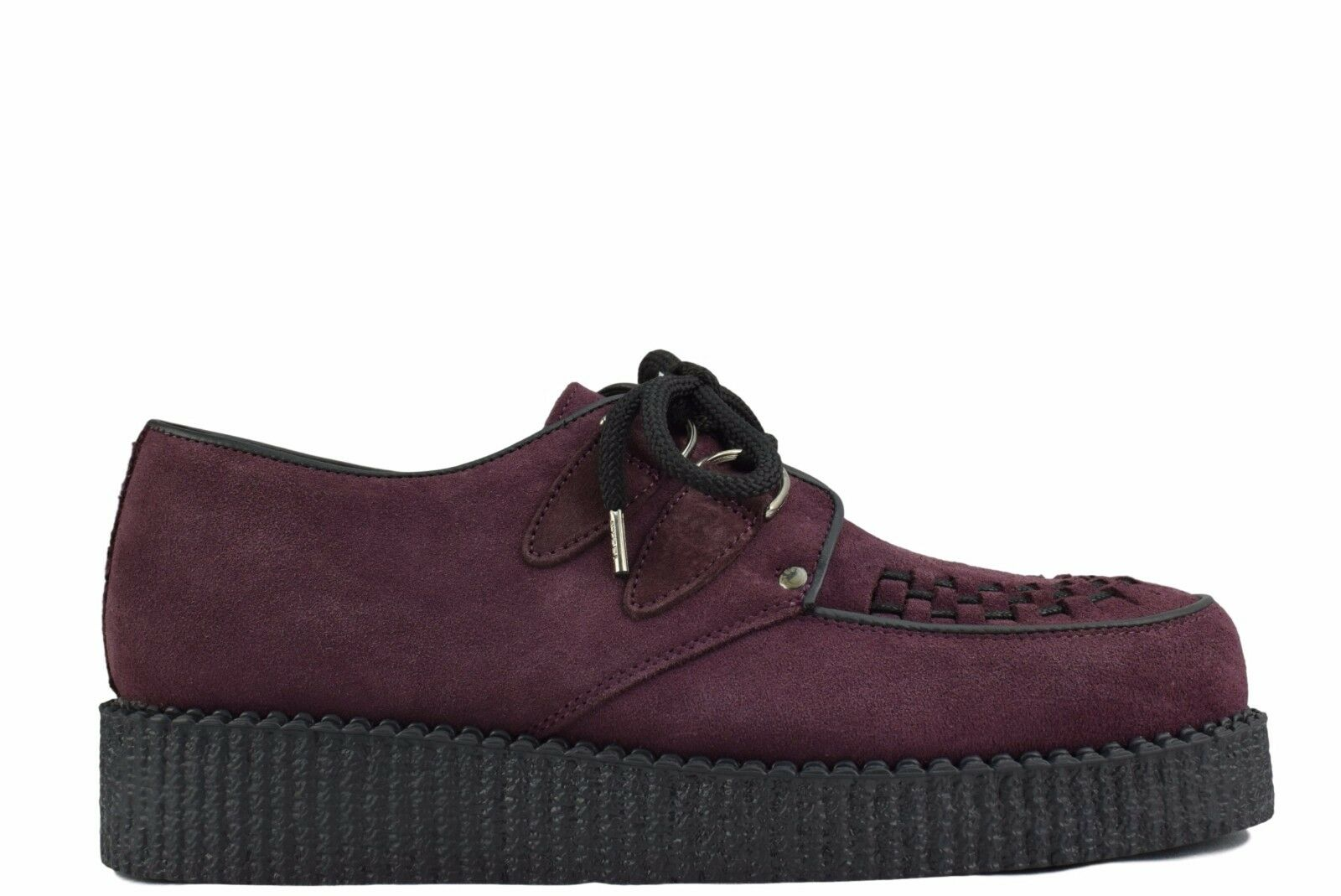 Steel Ground D Schuhes Burgundy ROT Suede Creepers Niedrig Sole D Ground Ring Casual Sc400Z274 35c200