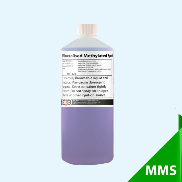 Mineralised Methylated Spirits 24 X 1l