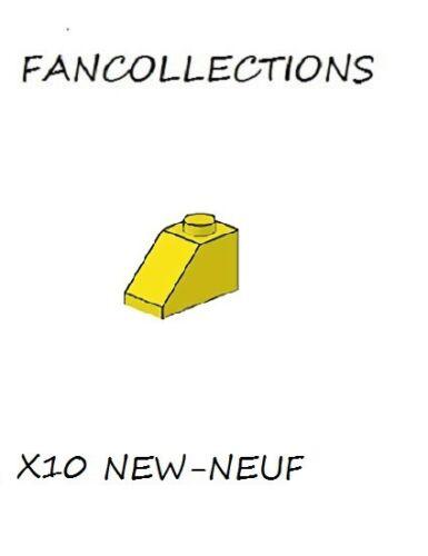 Yellow Slope 45 2x1-3040 NEUF LEGO X 10