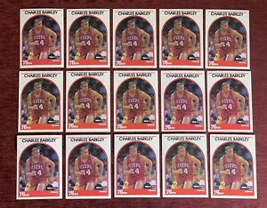 Lot of (15) 1989-90 NBA Hoops CHARLES BARKLEY Base #110 Philadelphia 76ers HOF🔥