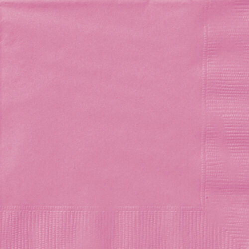 40 x Lunch Napkins 33cm 2 Ply Serviettes Wedding Party Tableware in all Colours