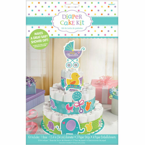 Baby Buggy Theme Baby Shower Diaper Cake Kit Great for Baby Shower Decorations
