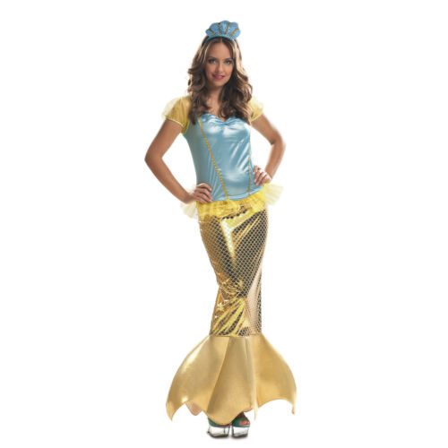 Le donne adulte MARE SIRENA Cosplay Costume Halloween Party Costume Piccolo FIN