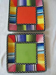 Certified-International-Nancy-Green-Serape-Set-of-2-Square-Dinner-Plates-10-3-4-034