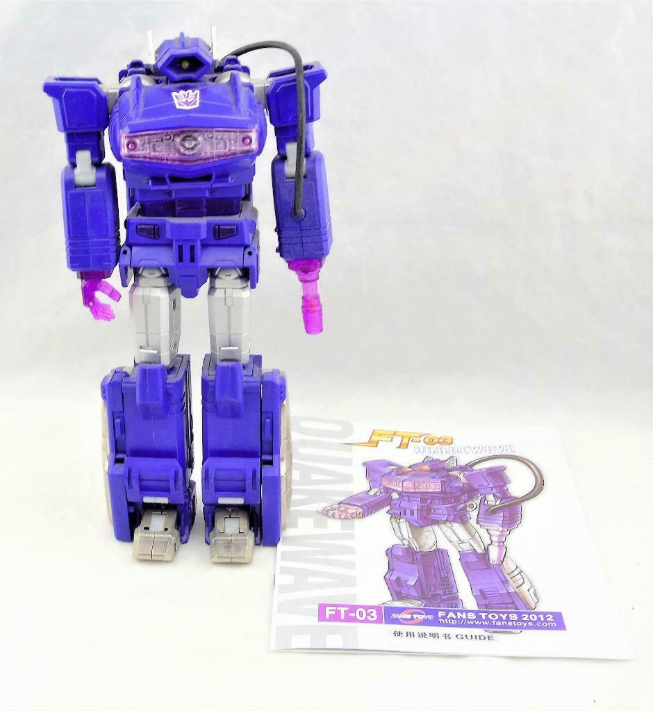 Transformers Fanstoys FT-02 Quakewave Figure Complete