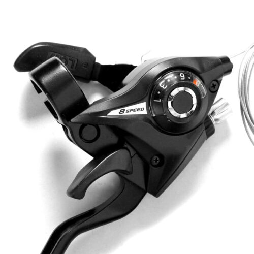 L3x 8 Speed US Bike Brake Shifters Set Brake Levers /& Shift Levers L3x 7 Speed