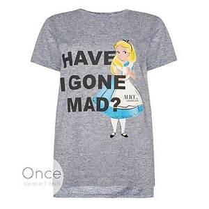 Primark-Donne-Adulti-Disney-Alice-Nel-Paese-Delle-Meraviglie-Have-i-Gone-Mad