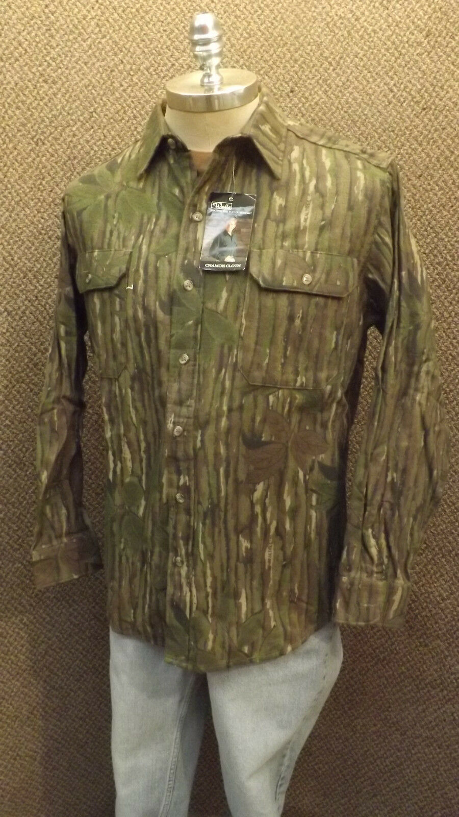 Vtg NEW Walls Realtree Camo Hunting Shirt   Cotton Chamois NOS sz XL USA Made BR  most preferential