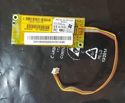 Wlan Wifi Module Board Wm168b 76-070005-00 Da Notebook Ecs Desknote A535-mostra Il Titolo Originale