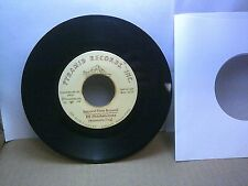 Old 45 RPM Record - Pyramid 0001 - Bill Middlebrooks - Second Time Around / Any