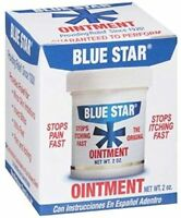 4 Pack Blue Star Anti-itch Medicated Ointment 2 Oz Each on sale