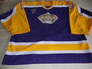 huge discount 23597 d8f5d Details about CCM Los Angeles LA Kings authentic Mike Cammalleri jersey  size 56 TBTC Vintage
