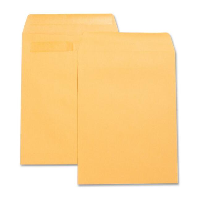 "Business Source Press/Seal Catalog Envelopes Plain 9""x12"" 100/BX Kraft 42123"