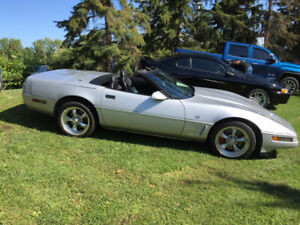 1996 Chevrolet Corvette Collectors Edition Convertible