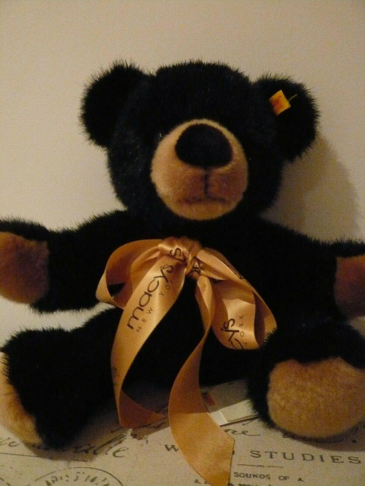 Macys New York Bear - Steiff - knopf im ohr
