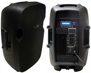 speakers rca input. image is loading new-12-034-300w-professional-pa-dj-powered- speakers rca input