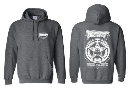 Limebug VW Titianio Wheel Logo Hoody MEDIUM Charcoal Grey Jumper Pullover Hoodie