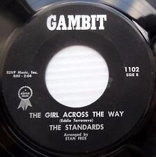 STANDARDS pop vocal group 45 GIRL ACROSS THE WAY WHY CAN'T IT HAPPEN TO ME F1402