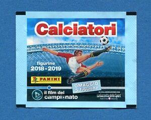 Bustina-Figurine-Stickers-CALCIATORI-Panini-2018-2019-Il-Film-1-C6-C10-Piena