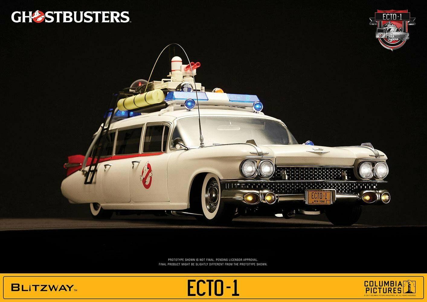 Blitzway Ghostbusters 1984 1984 1984 Ecto - 1 escala 1 6 vehículo  Pedido Previo  Envío Gratis en EE. UU.   sin mínimo
