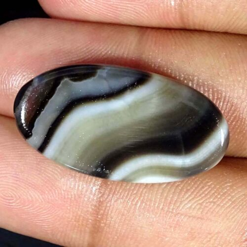 Natural Botswana Agate Oval Cabochon Loose Gemstone Collection