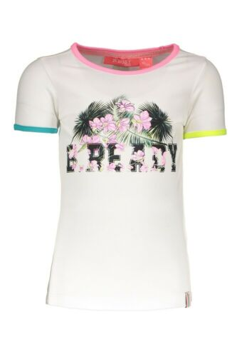 ♥ B.NOSY Teens ♥ Mädchen T-Shirt Baumwolle chalk white Gr.98-164♥ 902-5452-002