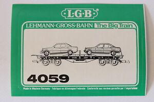 LGB-4059-Autotransportwagen