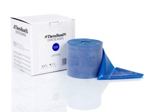 Thera Band 45,7 m Rolle extra stark blau TheraBand Übungsband Thera-Band NEU