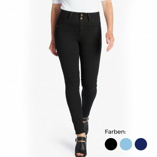 Genius MyFit Jeans   schwarz   Denim-Jeans   Damen   Flex Tech Denim-Stoff   NEU