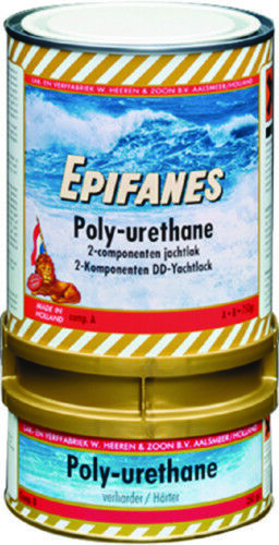 Epifanes 2-Part Polyurethan Polyurethan 2-Part Beschichtung Dunkelblau Farbe 750g Kratzfest 4b999f