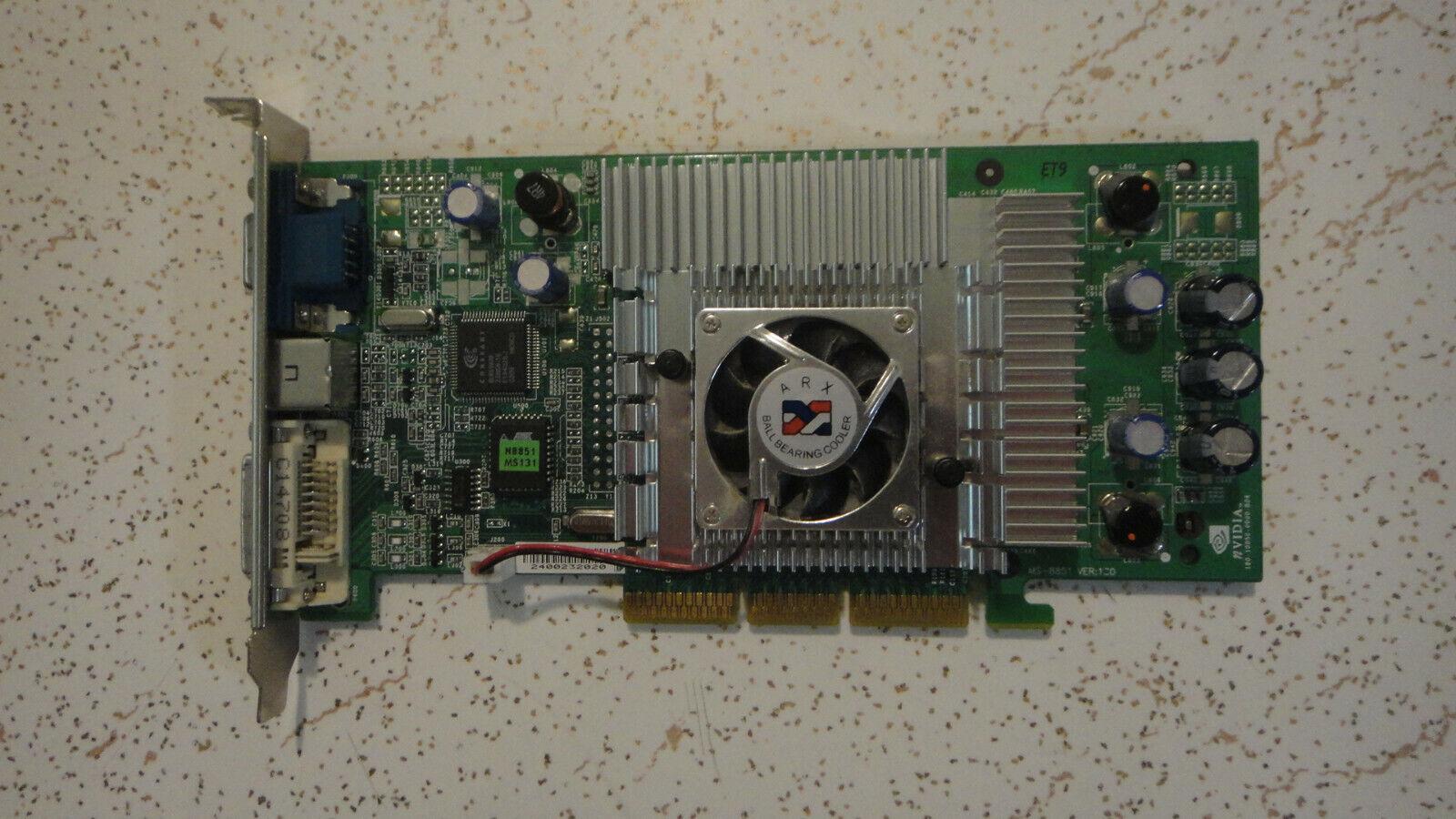 AGP card ARX 128M G3Ti200 Pro TD128 Nvidia, Needs fixing. LooK!