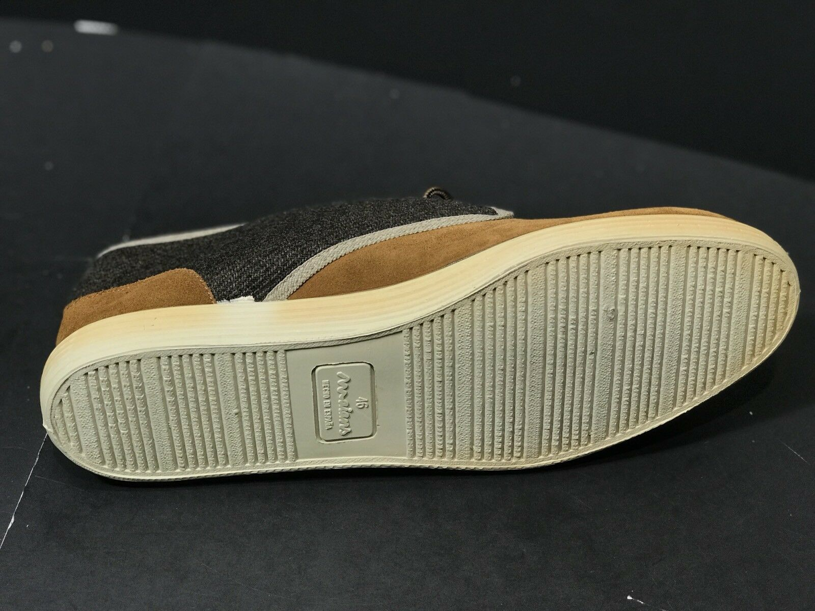 9ec1fd64a4a6 ... NEW Maians Maians Maians Domingo Mens Suede Sneakers Brown Size 1US  11.5 MADE IN SPAIN