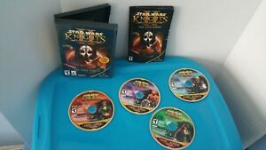 STAR-WARS-KNIGHTS-OF-THE-OLD-REPUBLIC-2-SITH-LORDS-4-discs-PC-CD-ROM
