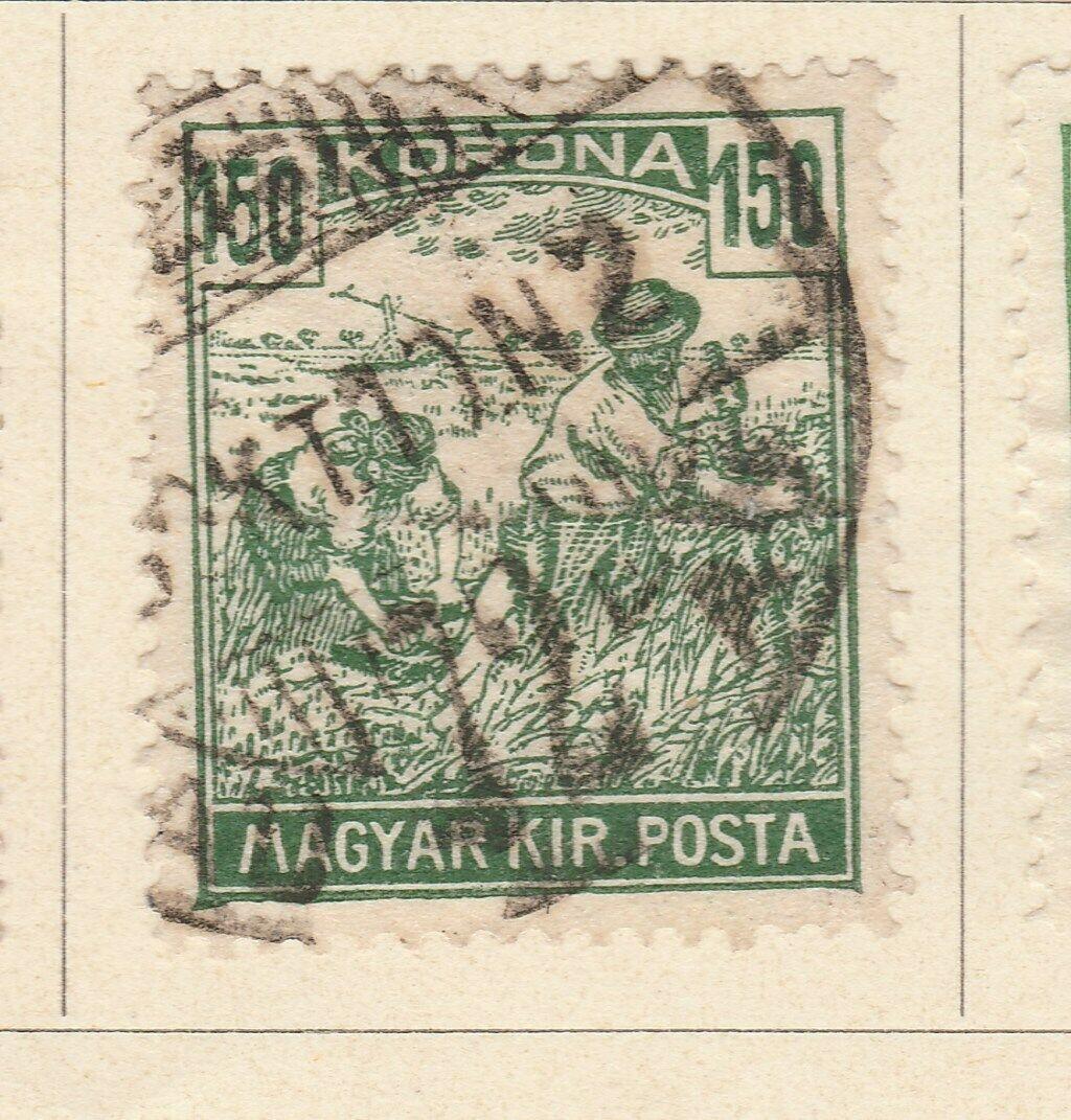 A6P8F61 Ungarn Hongrie Hungría Hungary 1920-24 150k used