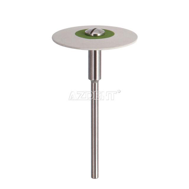Dental Rubber Diamond Polisher Wheel Disc for Porcelain 26mm HP Ultra Fine